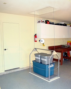 An attic lift system