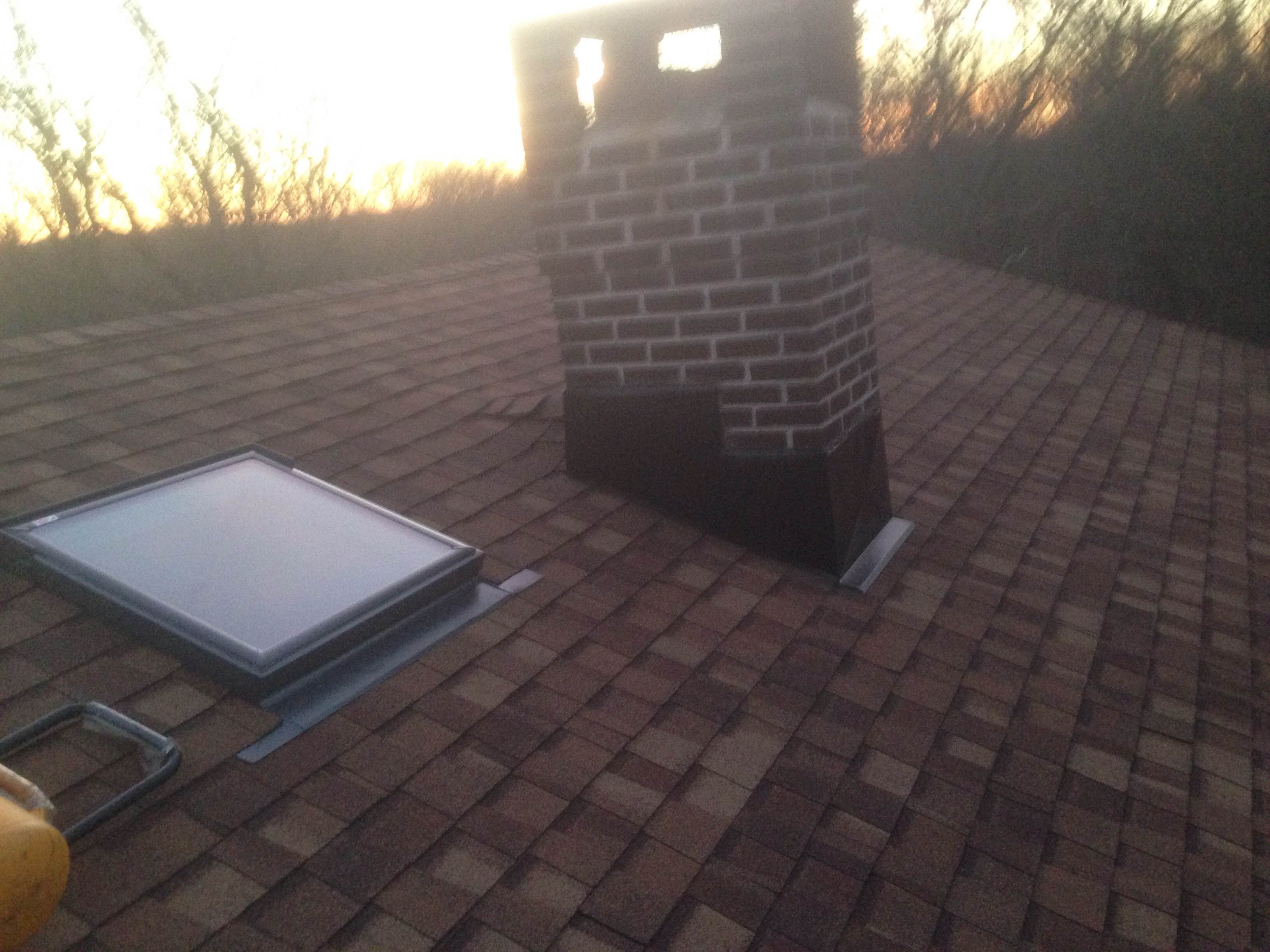 New Roof and Skylight