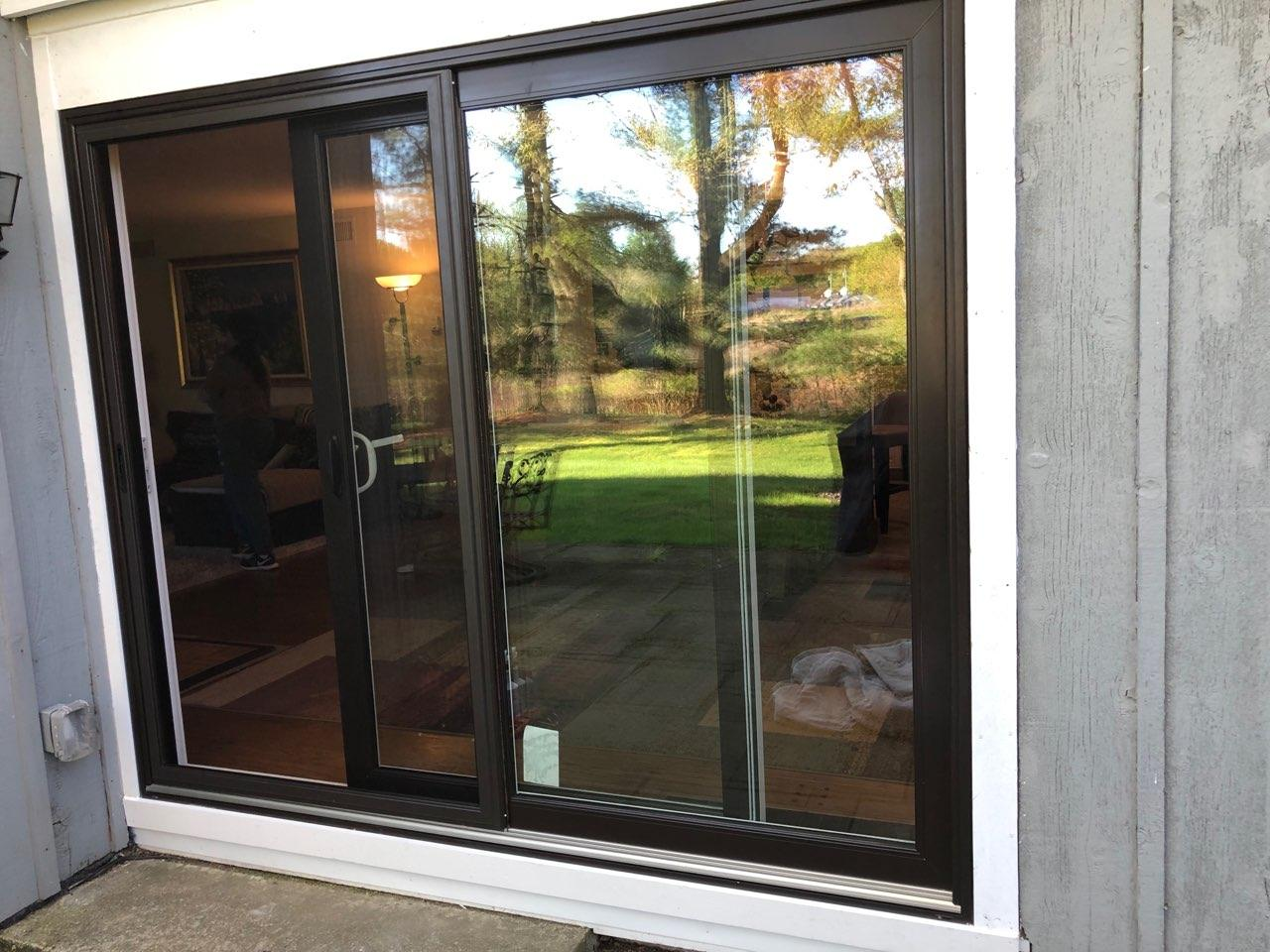 New Patio door completed in Somers