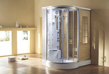 A Home Steam Shower System